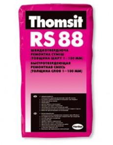 Ремонтная смесь Thomsit RS 88, 25кг - высокое качество по лучшей цене в Украине.