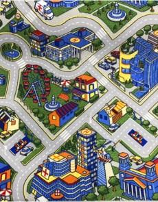 Дитячий ковролін Принт Мегаполис 13/95 - высокое качество по лучшей цене в Украине.