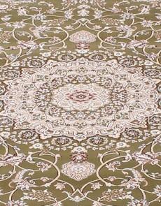 Высокоплотная ковровая дорожка Esfahan 4878A green-ivory - высокое качество по лучшей цене в Украине.