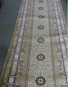 Высокоплотная ковровая дорожка Ottoman 8198 беж - высокое качество по лучшей цене в Украине.