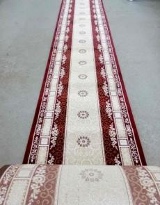 Высокоплотная ковровая дорожка Ottoman 8198 бордо - высокое качество по лучшей цене в Украине.