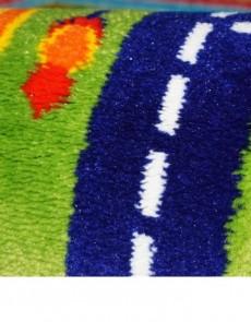 Дитяча килимова доріжка Baby 6046 Yeshil-Lacivert  - высокое качество по лучшей цене в Украине.