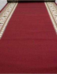 Кремлевская ковровая дорожка Selena / Lotos 046-208  red Рулон - высокое качество по лучшей цене в Украине.