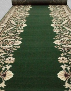 Кремлевская ковровая дорожка Silver / Gold Rada 028-32 green - высокое качество по лучшей цене в Украине.