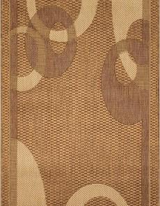 Безворсовая ковровая дорожка Sisal 026 gold-biege - высокое качество по лучшей цене в Украине.