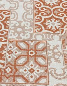 Безворсовая ковровая дорожка Cottage 5474 wool - terra - высокое качество по лучшей цене в Украине.