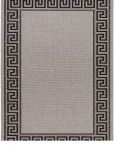 Безворсова килимова доріжка Natura 20014 Silver-Black - высокое качество по лучшей цене в Украине.