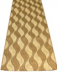Безворсовая ковровая дорожка Sisal 1080 CREAM-GOLD - высокое качество по лучшей цене в Украине.