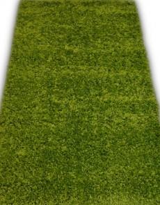 Высоковорсная ковровая дорожка First Shaggy 01000 green - высокое качество по лучшей цене в Украине.