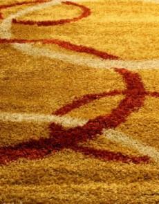 Высоковорсная ковровая дорожка Shaggy Gold 8018 gold - высокое качество по лучшей цене в Украине.