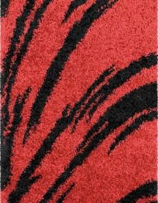Высоковорсная ковровая дорожка Shaggy Gold 8061 red - высокое качество по лучшей цене в Украине.
