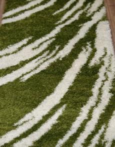 Высоковорсная ковровая дорожка Shaggy Gold 8061 GREEN - высокое качество по лучшей цене в Украине.