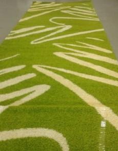 Високоворсна килимова доріжка Shaggy 0791 зелений - высокое качество по лучшей цене в Украине.