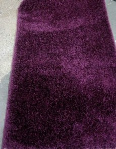Високоворсна килимова доріжка Shaggy Mono 0720 фіолетовий - высокое качество по лучшей цене в Украине.