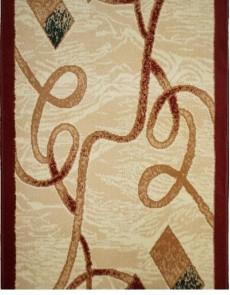 Синтетическая ковровая дорожка Almira 2327 Cream-Red Рулон - высокое качество по лучшей цене в Украине.