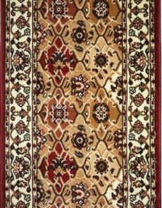 Синтетическая ковровая дорожка Almira 2348 Red-Cream - высокое качество по лучшей цене в Украине.