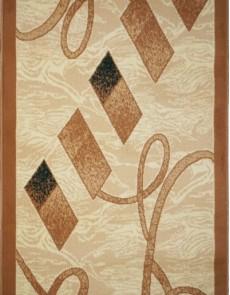 Синтетична килимова доріжка Almira 2327 Cream-D.Beige Rulon - высокое качество по лучшей цене в Украине.