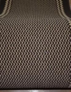 Синтетическая ковровая дорожка Дарничанка brown (Zikzag 10) - высокое качество по лучшей цене в Украине.