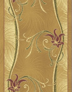 Синтетическая ковровая дорожка Neva N 185 beige - высокое качество по лучшей цене в Украине.