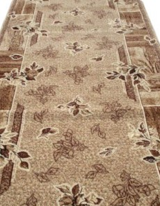 Синтетическая ковровая дорожка Silver  / Gold Rada 300-12 Kantri beige - высокое качество по лучшей цене в Украине.