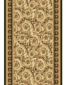 Синтетическая ковровая дорожка Selena / Lotos 539-130 green - высокое качество по лучшей цене в Украине.