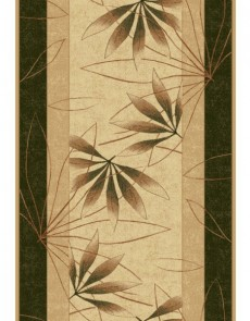 Синтетическая ковровая дорожка Selena / Lotos 552-130 green - высокое качество по лучшей цене в Украине.