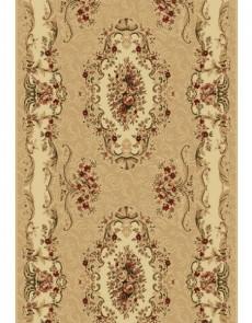 Синтетическая ковровая дорожка Selena / Lotos 573-110 beige - высокое качество по лучшей цене в Украине.