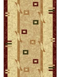 Синтетическая ковровая дорожка Selena / Lotos 579-120 red - высокое качество по лучшей цене в Украине.