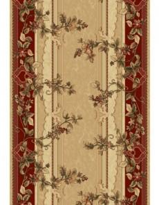 Синтетическая ковровая дорожка Selena / Lotos 580-120 red - высокое качество по лучшей цене в Украине.