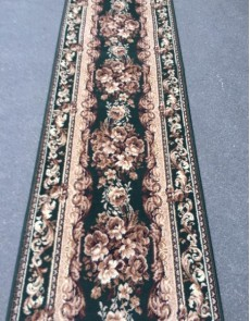 Синтетическая ковровая дорожка Silver  / Gold Rada 235-32 Buket green - высокое качество по лучшей цене в Украине.