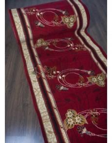 Синтетична килимова доріжка Silver 103 , RED - высокое качество по лучшей цене в Украине.