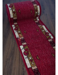 Синтетична килимова доріжка Silver 116 , RED - высокое качество по лучшей цене в Украине.