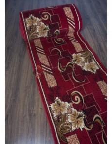 Синтетична килимова доріжка Silver 336 , RED - высокое качество по лучшей цене в Украине.