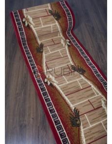 Синтетична килимова доріжка Silver 491 , RED - высокое качество по лучшей цене в Украине.