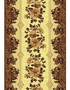 Синтетическая ковровая дорожка Silver 025-12 brown Rulon - высокое качество по лучшей цене в Украине.