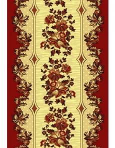 Синтетическая ковровая дорожка Silver 025-22 red Rulon - высокое качество по лучшей цене в Украине.