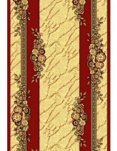 Синтетическая ковровая дорожка Silver  / Gold Rada 029-22 red Рулон - высокое качество по лучшей цене в Украине.