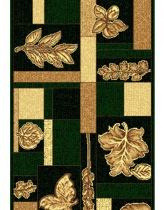 Синтетическая ковровая дорожка Silver 099-32 green Rulon - высокое качество по лучшей цене в Украине.