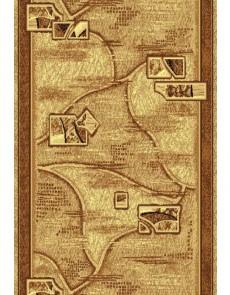 Синтетическая ковровая дорожка Silver  / Gold Rada 130-12 beige - высокое качество по лучшей цене в Украине.