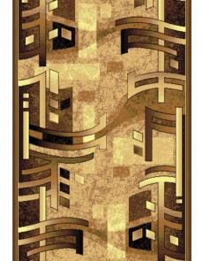 Синтетическая ковровая дорожка Silver 140-12 brown Rulon - высокое качество по лучшей цене в Украине.