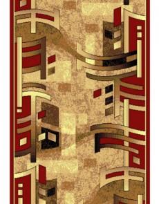 Синтетическая ковровая дорожка Silver 140-122 red Rulon - высокое качество по лучшей цене в Украине.