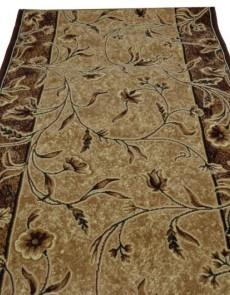 Синтетическая ковровая дорожка Silver 171-123 beige Rulon - высокое качество по лучшей цене в Украине.
