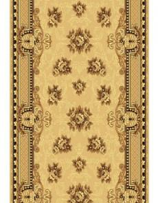 Синтетическая ковровая дорожка Silver  / Gold Rada 305-12 beige - высокое качество по лучшей цене в Украине.