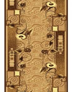 Синтетическая ковровая дорожка Silver  / Gold Rada 320-12 beige - высокое качество по лучшей цене в Украине.