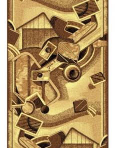 Синтетическая ковровая дорожка Silver  / Gold Rada 332-12 beige - высокое качество по лучшей цене в Украине.