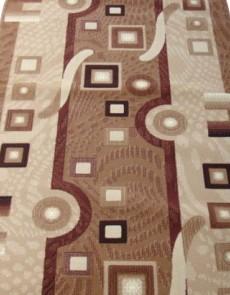 Синтетическая ковровая дорожка Silver  / Gold Rada 579-110 Kubik beige - высокое качество по лучшей цене в Украине.