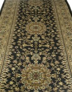 Синтетическая ковровая дорожка Super Elmas 0937A d.green-ivory - высокое качество по лучшей цене в Украине.