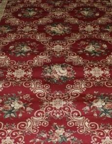 Синтетическая ковровая дорожка Super Elmas 4588A d.red-ivory - высокое качество по лучшей цене в Украине.