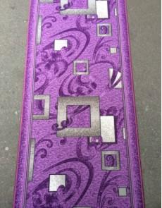 Синтетическая ковровая дорожка Vitebsk Felt Kubik lila - высокое качество по лучшей цене в Украине.