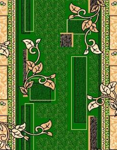 Синтетическая ковровая дорожка Zeynep 504 , GREEN - высокое качество по лучшей цене в Украине.